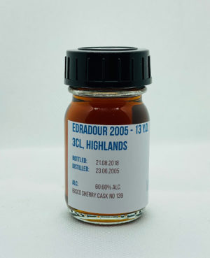 Edradour Ibisco Sherry Whisky Sample
