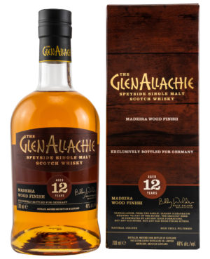 GlenAllachie 12 y.o. Madeira Wood Finish