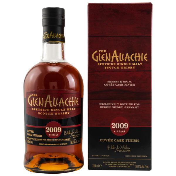 GlenAllachie 2009/2021 Sherry & Rioja Cuvee Finish