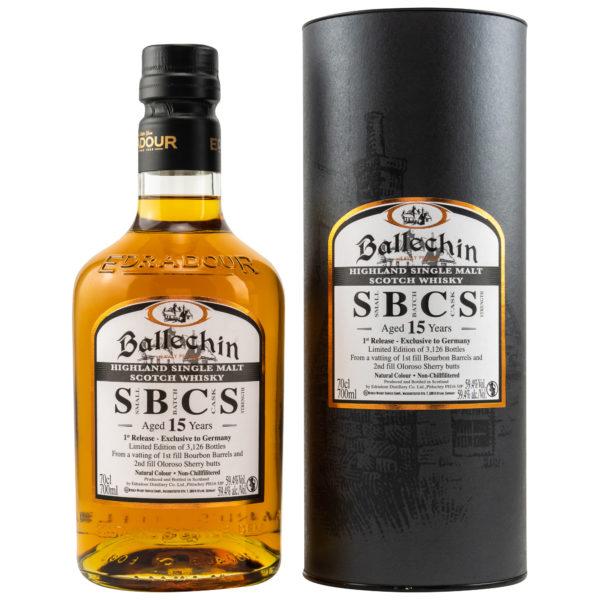 Ballechin 15 y.o. SBCS Batch #1