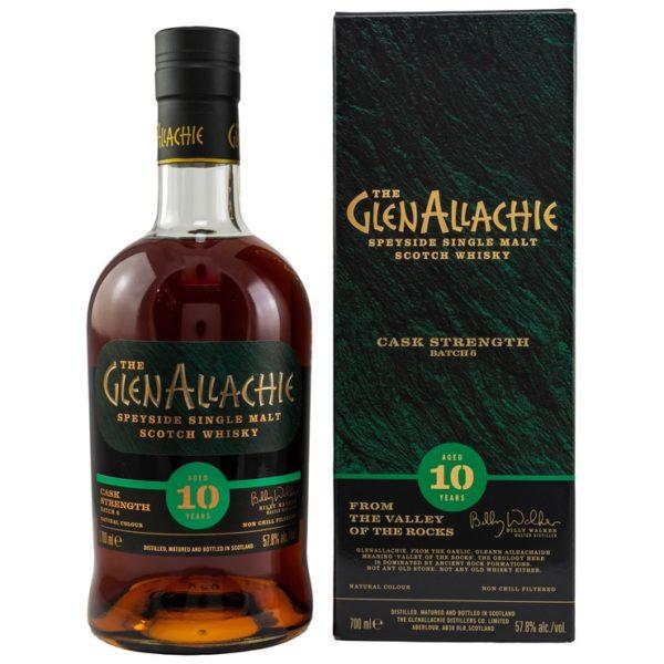 GlenAllachie 10 y.o. - Batch 6 - Cask Strength